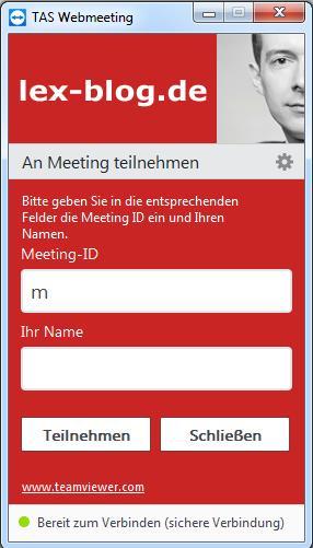 TAS WebMeeting