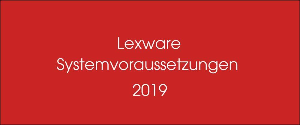 Lexware Systemvoraussetzungen für Versionen 2019 | lex-blog