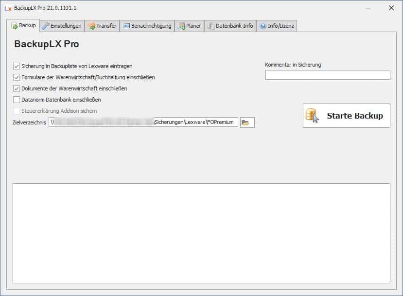 BackupLX Pro 21.x