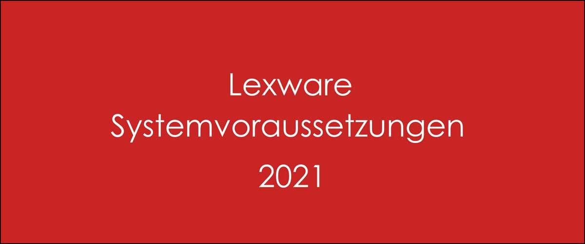 Systemvoraussetzungen 2021